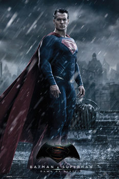 Batman v Superman: Dawn of Justice - Superman Poster, Art Print