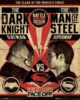 Pôster Batman V Superman - Fight Poster