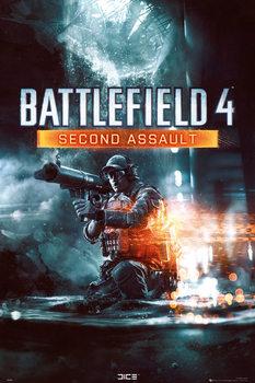 Battlefield 4 - second assault Poster