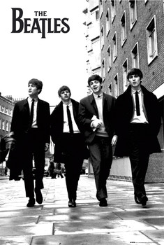 Beatles - in London Poster, Art Print