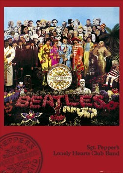 Pôster Beatles - sgt.pepper