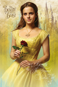 Poster Beauty and The Beast - Belle
