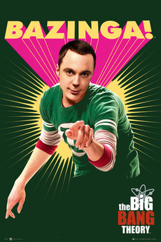BIG BANG THEORY - Bazinga Poster