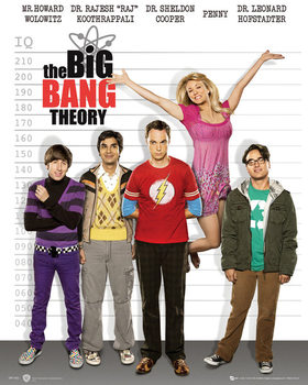 Pôster BIG BANG THEORY - line up