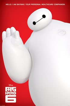 Big Hero 6 - I Am Baymax Poster, Art Print