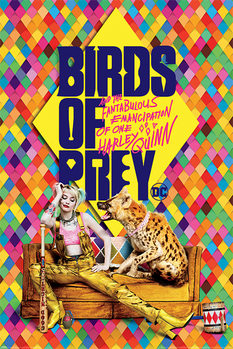 Poster Birds of Prey: And the Fantabulous Emancipation of One Harley Quinn - Harley's Hyena