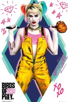 Poster Birds Of Prey - Harley Quinn