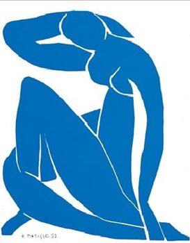 Blue Nude II, 1952 Art Print