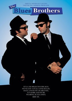 Blues Brothers - Mission from God Poster