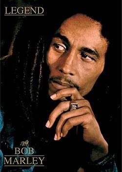 Bob Marley - legend Poster, Art Print