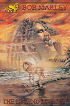Bob Marley - legend lives on Poster
