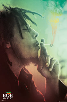 Poster Bob Marley - Smoking Lights
