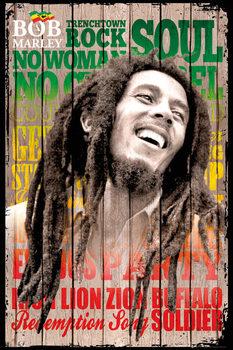Pôster Bob Marley - songs