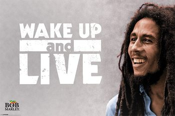 Bob Marley - Wake Up and Live Poster