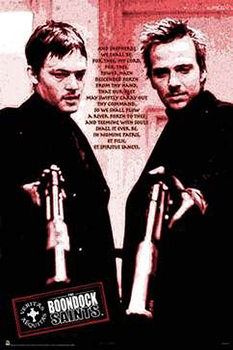 Boondock Saints - Red Poem Poster