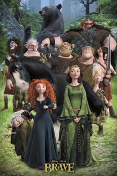 BRAVE - cast Poster