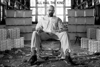 Breaking bad - All Hail The King Poster