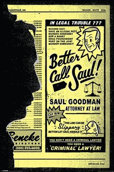 Breaking Bad - Better Call Saul! Poster, Art Print