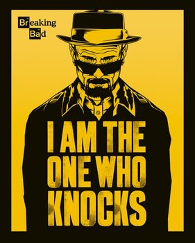 Poster Breaking Bad - I Am The One Who Knocks