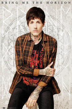 Bring me the horizon - oli Poster