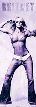 Britney Spears - lilac Poster