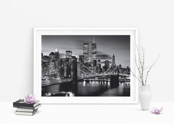 Brooklyn bridge (B&W) Poster