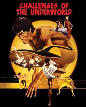 Bruce Lee - challenges Poster, Art Print