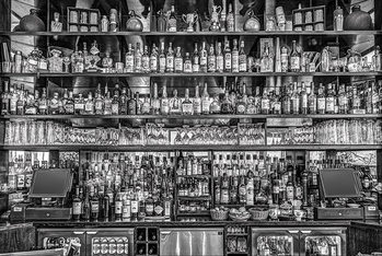 Bureau Bar Poster