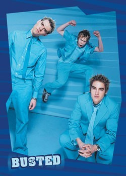 Busted - Blue Poster