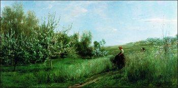 C.F.Daubigny - La Primavera Art Print