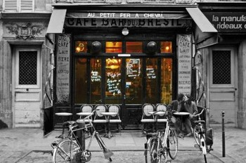 Cafe bar du Bresil Poster, Art Print