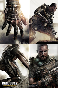 Call Of Duty Advanced Warfare - Grid Poster
