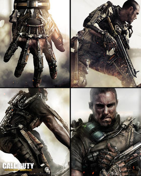 Call of Duty: Advanced Warfare - Grid Poster, Art Print