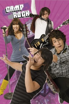 CAMP ROCK - band Poster