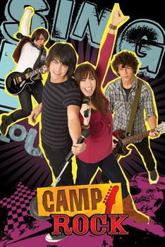 CAMP ROCK - group Poster, Art Print
