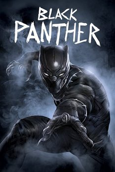 Captain America Civil War - Black Panther Poster