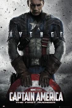 CAPTAIN AMERICA - teaser Poster