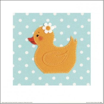 Catherine Colebrook - Daisy Duck Art Print