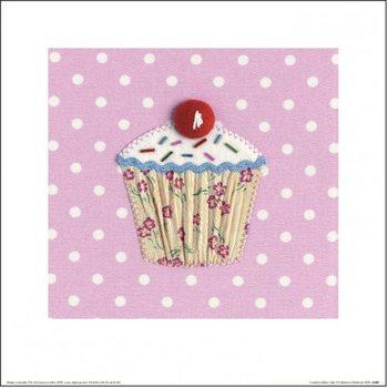 Catherine Colebrook - Grandma Baker Cake Art Print