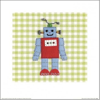 Catherine Colebrook - Robots Rule OK Art Print