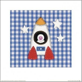 Catherine Colebrook - Rocket Boy Art Print
