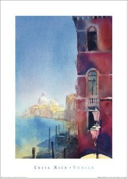 Cecil Rice - Red Palace, Grand Canal Art Print