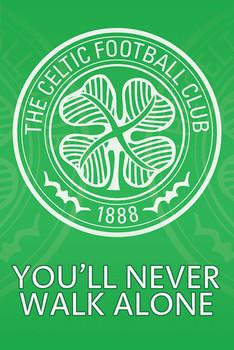 Poster  Celtic - crest