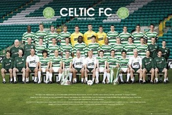 Celtic - Team photo 07/08 Poster