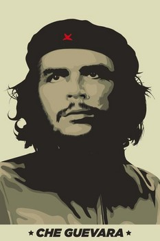 Che Guevara - khaki green Poster