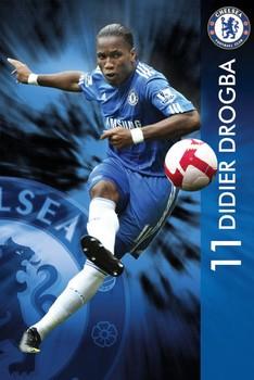 Chelsea - drogba 09/10 Poster