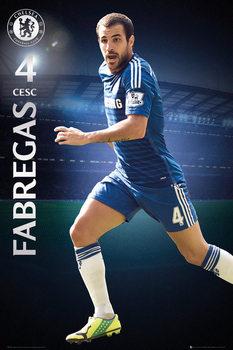 Chelsea FC - Fabregas 14/15 Poster, Art Print
