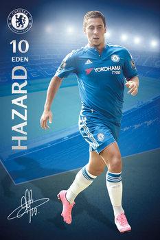 Chelsea FC - Hazard 15/16 Poster, Art Print