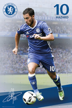 Poster Chelsea - Hazard 16/17
