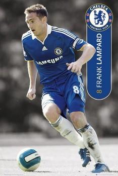 Chelsea - lampard 08 09 Poster